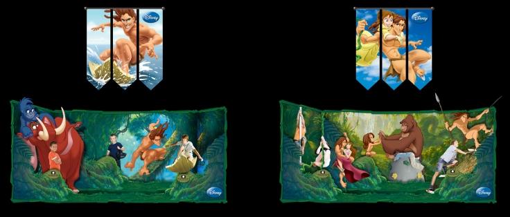 Ambientação_Tarzan Disney