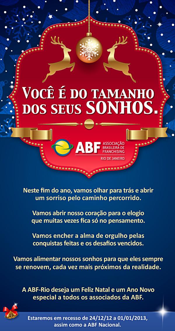 E-mail MKT Natal 2012 (ABF - Associação Brasileira de Franchising)