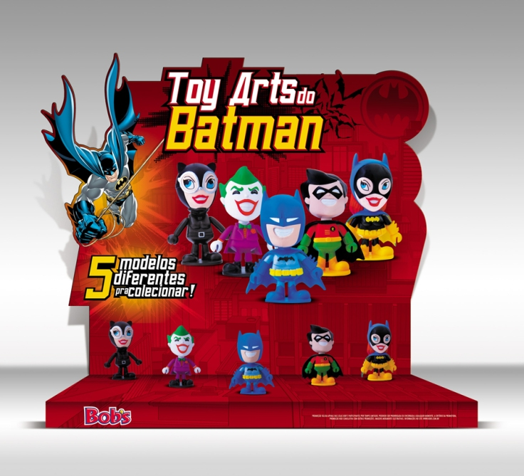 Bob's (Display Toy Art Batman) *Fotos Still Bonecos