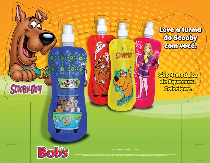 Bob's (Display de balcão Scooby-Doo! – 70x22cm) *Fotos Still Brindes