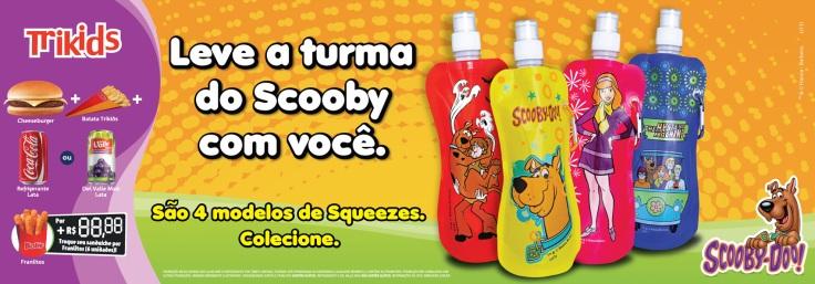 Bob's (Testeira de Balcão Scooby-Doo! – 60x22cm) *Fotos Still Brindes