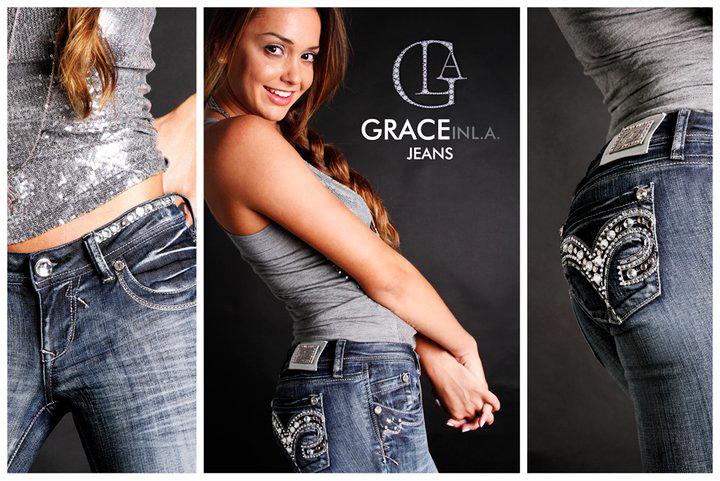 GLA Grace Jeans - Los Angles EUA