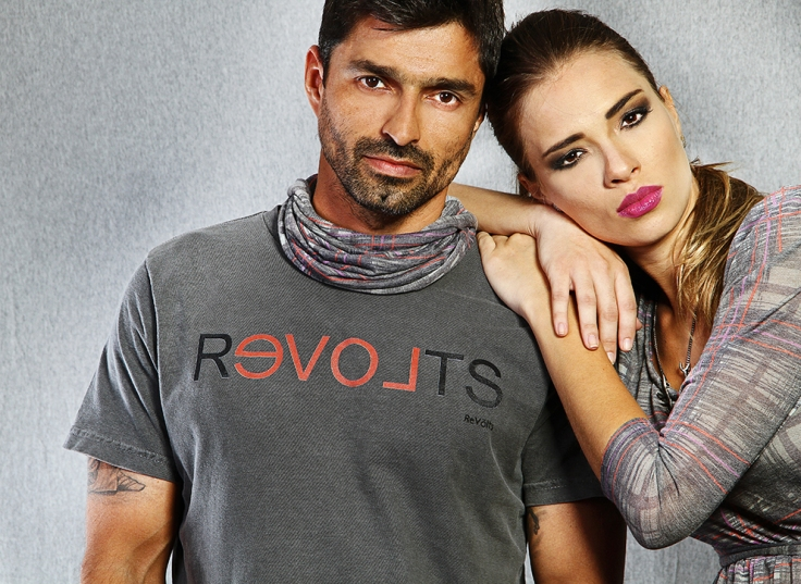 Modelos Rafael Saldanha e Vanessa Sodré – Re Völts Inverno